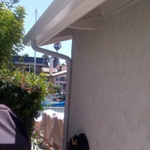 Ventura County Rain Gutters K gutter 3inch round downspout